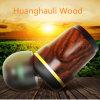 Chaîne hi-fi des basses profondes bois tressé écouteurs intra-auriculaire pour iPhone