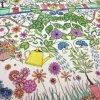 Impresión de libros para colorear de alivio del estrés para los adultos