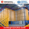 Chaîne de production verticale de couche de poudre de profil en aluminium