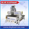 Machine de gravure en bois de porte de commande numérique par ordinateur de haute précision d'Ele 1325, couteau de commande numérique par ordinateur pour des meubles d'Untique