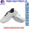 Pattini di lavoro bianchi di sicurezza dell'unità di elaborazione di doppia densità del cuoio impresso di vendita calda di estate (GWPU-JG022)