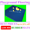 屋外の運動場の安全なスリップ防止ゴム製床のマット