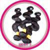 Tecelagem indiana do cabelo de Remy do Virgin do original de 100%