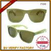 Óculos de sol de bambu Fx80 do logotipo feito sob encomenda de Lasered