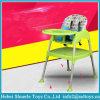 Jantar de Bebé multifuncional de plástico Cadeira Cadeira de alimentação com a placa dianteira