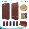 Ультра тонкий тонкий кожаный чехол для iPhone 5/6/6s Plus