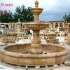 Fontaine en pierre de marbre de sculpture pour la décoration de jardin (SY-F066)