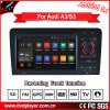 Carplay aluguer de DVD para o Audi A3 S3 Android Market sistemas GPS Bluetooth Rádio iPod 3G WiFi