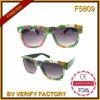 Preiswerte Plastiksonnenbrillen des heißen Verkaufs-F5809
