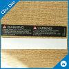 étiquette de fibre de faire attention estampée par 15*2.5cm pour la portée