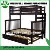 脚輪(WJZ-B80)が付いている木製の寝室の家具の二段ベッド