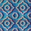 モザイク模様のガラスモザイク壁のタイル(HMP720)