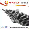ACSR sobrecarga ASTM cable conductor eléctrico de 477 conductores de aluminio reforzado con acero MCM