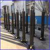 Tipo cilindro de vários estágios do Fe do estilo de Hyva do petróleo hidráulico para caminhões