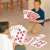 Cartões de tamanho gigantes A4 do jogo dos cabritos