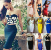 Двухкусочные сексуальные рейон прибытия платья 2014 повязки партии женщин новый платья знаменитости 2 частей (C-131)