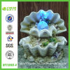 Polyresin Rolling Ball Seashell Water Fountain con il LED Light (NF11098-4)