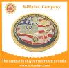 カスタム金張りの硬貨、メダルバッジ、ギフト、記念品