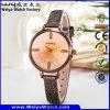 Wristwatch повелительниц кварца кожаный планки классицистический вскользь (Wy-042E)
