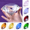 De Veelkleurige Ambachten van uitstekende kwaliteit van het Kristal van de Diamant van het Kristal voor Giften Sovenir van de Verjaardag van het Huwelijk van het Huis de Decoratieve