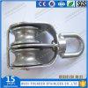 Bloco do giro do dobro da polia da carcaça do aço inoxidável AISI304 AISI316