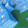파란 방수 많은 태풍은 지붕 덮개를 위한 방수포를 포함한다