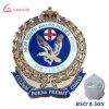 Insignes faits sur commande de police militaire en métal de qualité d'usine à vendre
