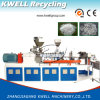 Máquina da fibra do animal de estimação/fio de poliéster de granulagem plásticos que recicl a máquina
