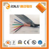 El PVC de cobre de la base aisló el cable de control flexible forrado PVC blindado tejido