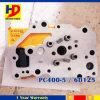 小松のエンジン部分のためのPC400-5掘削機6D125エンジンのシリンダーヘッド
