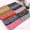 Écharpe mince d'été estampée par voile bon marché de polyester (HV08)