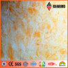 Material compuesto de aluminio Acm de la textura de piedra de Ideabond