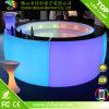 Al aire libre partido LED iluminado recargable mobiliario comercial LED barra de contador