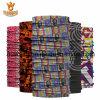 Preiswertes Microfiber Großhandelspolyestermagischer Bandana Headwear mit kundenspezifischem Firmenzeichen