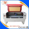 100W de hoog-standaard Scherpe Machine van de Laser met de Harder van het Water (JM-1480h-CCD)