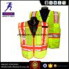 Het hoge Waterdichte Vest En20471 van de Veiligheid van het Zicht Weerspiegelende