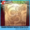 De zilveren /Golden/Decoratie van het Hotel/Zuur Geëtstd Decoratief Glas