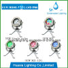 3PCS는 Color&RGB LED 반점 수중 수영장 빛을 골라낸다