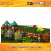 114mm galvanisiertes Pfosten-bunte doppelte Fußboden-Kind-im Freienspielplatz-Gerät