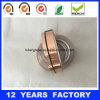 Cinta de cobre adhesiva de la hoja del solo silicón lateral de la alta calidad 0.075m m
