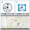 Vorfahrzeug, das bewegliches aufspürensoftware-/GPS Gleichlauf-System aufspürt