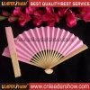De promotie Ventilator van de Hand, die de Ventilator van het Document, de Ventilator van het Bamboe vouwen