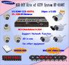 8CH H. 264 sistema de DVR y del CCTV (HT-8208T)