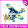 O projeto novo DIY monta os aviões de madeira W03b065 do brinquedo das crianças