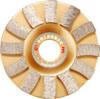 Diamante Sintered Cup Wheels Blade para Stone