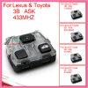 O interior remoto para auto Lexus com pede 3 a identificação do FCC de Butons 304.3MHz-D: 60040