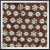 Bordado pequeno da flor do laço poli do bordado do algodão da tela do bordado do engranzamento
