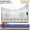 Porte de fer travaillé de matériaux de clôture