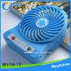 ventilateur électrique de batterie au lithium 3.7V 18650 mini avec l'éclairage LED