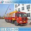 Circuit hydraulique 3 T, 4 T, 5 T 6.3 T, 8 T, 10 T, grue montée mini par camion de 12 T